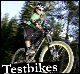 Santa Cruz Testbikes