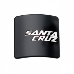 Headtube Badge Santa Cruz Black & White